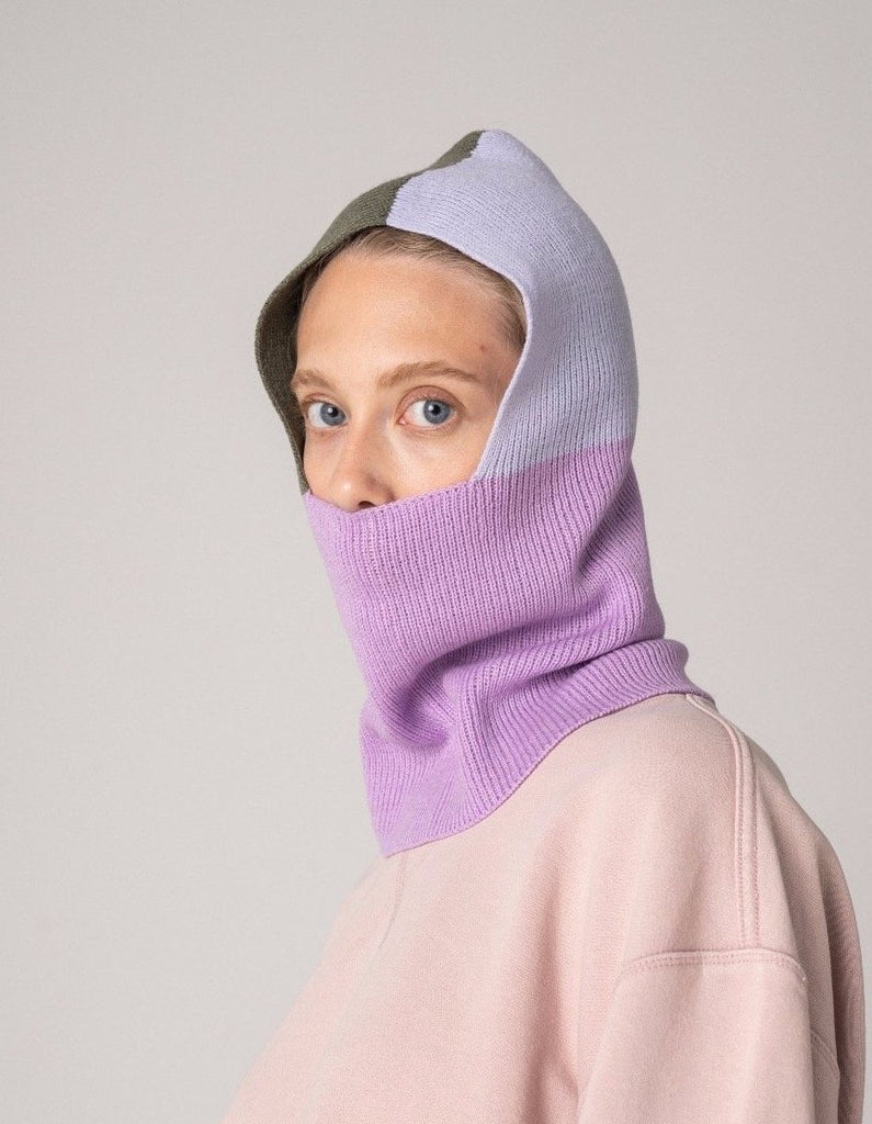 Colourblock Balaclava