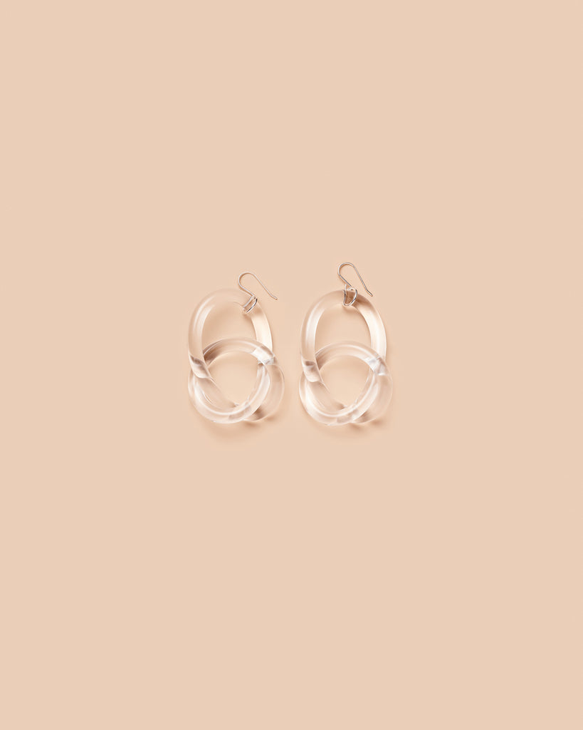 Knotted Loop Earring