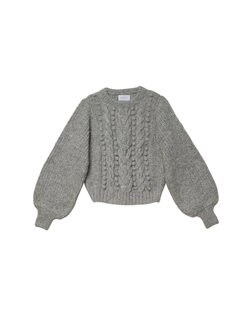 Charlotte Sweater - Heather Grey