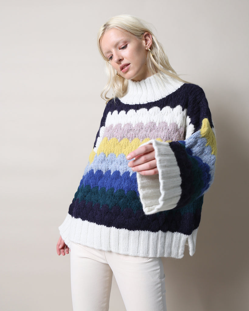 Freya Multi-Stripe Sweater
