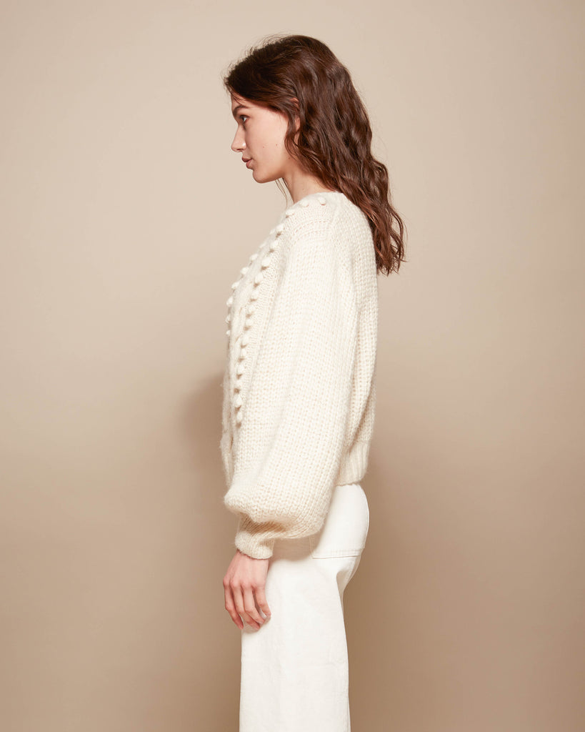 Charlotte Sweater - Ivory