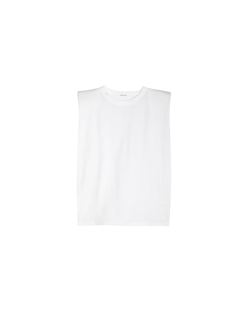 Miko Padded Shoulder T-Shirt