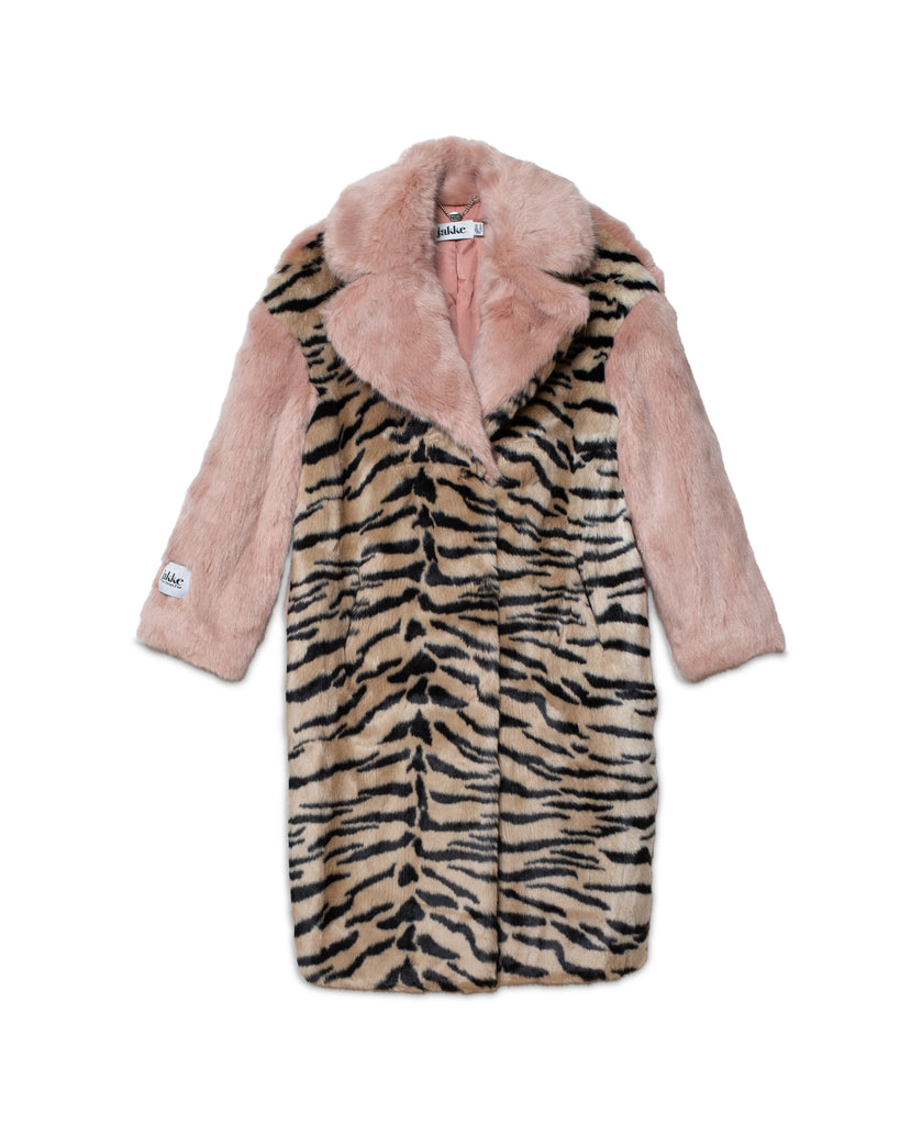 Kelly Faux Fur Coat