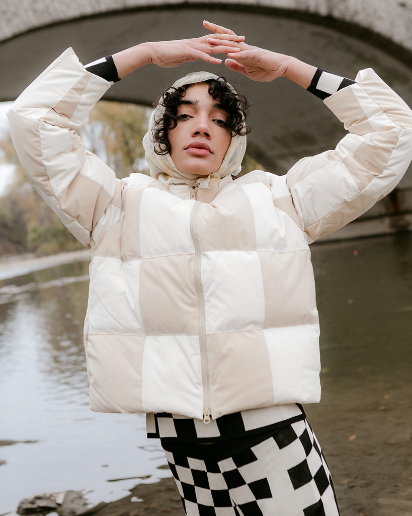 Buzz Checkerboard Puffer