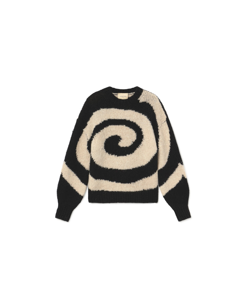 Twister Sweater - Black
