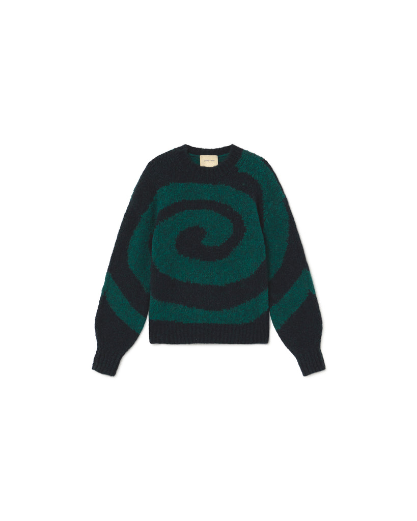 Twister Sweater - Forest Green