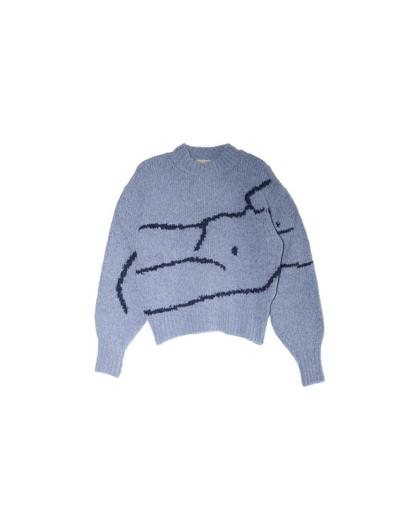 Palmira Sweater - Light Blue
