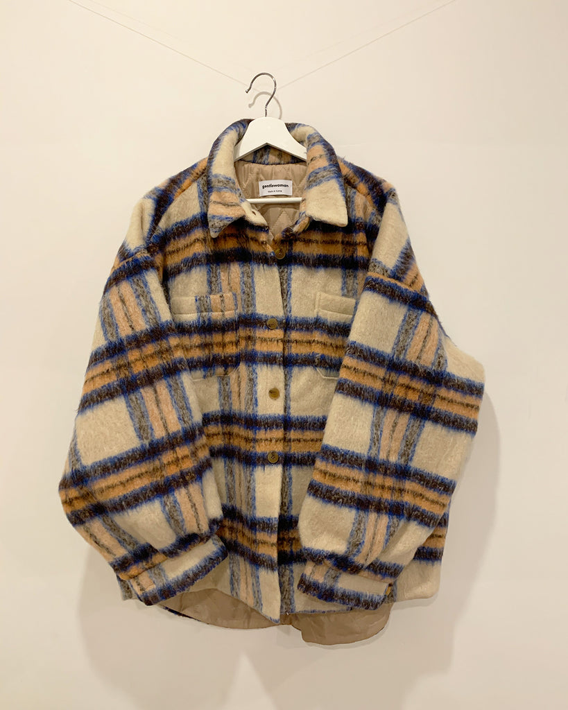 Willa Plaid Jacket