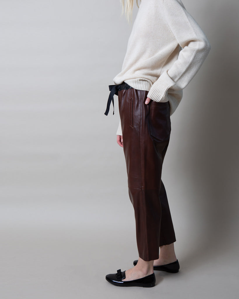 Bastia Leather Pant