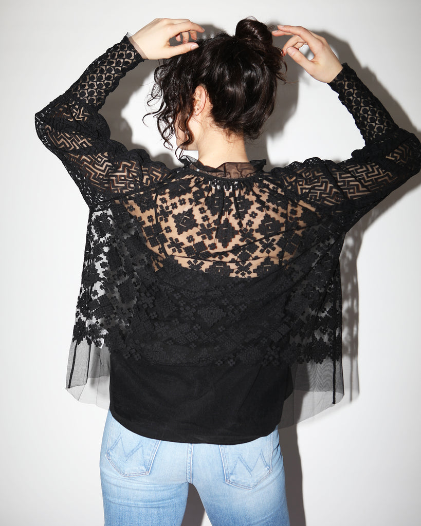 Maria Embroidered Blouse