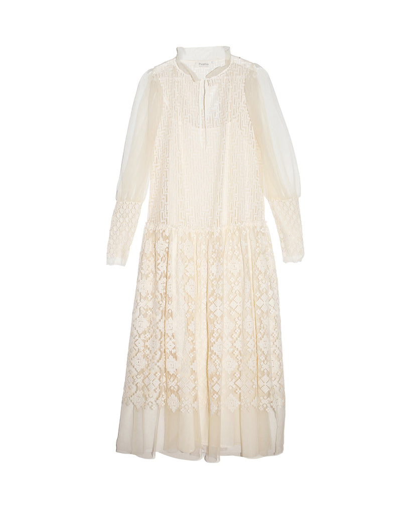 Leah Embroidered Dress