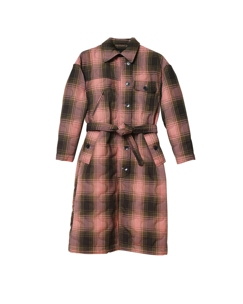 Era Plaid Coat