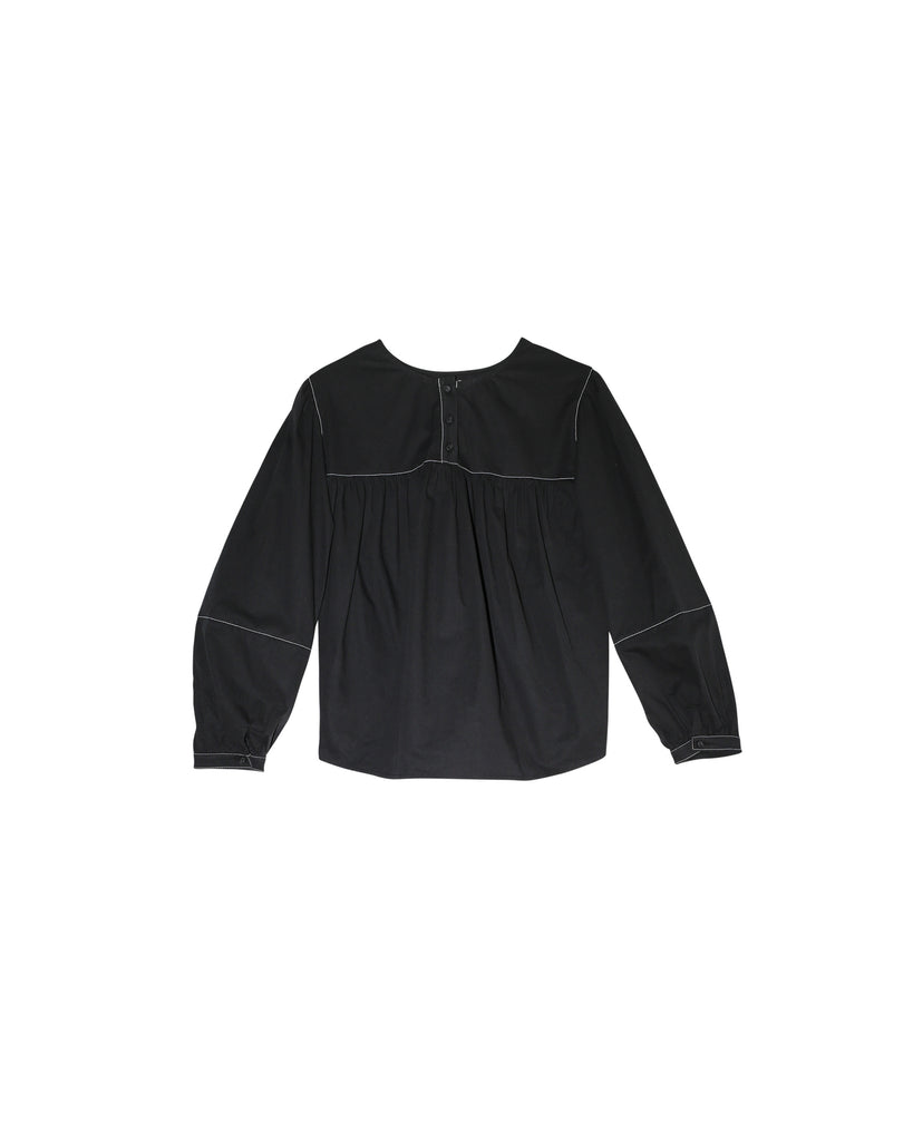 Terry Blouse - Black