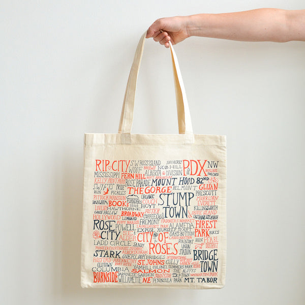 PDX Words – Tote Bag