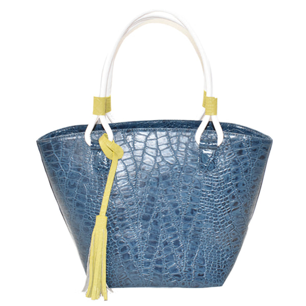 Candy Leather Tote Bag