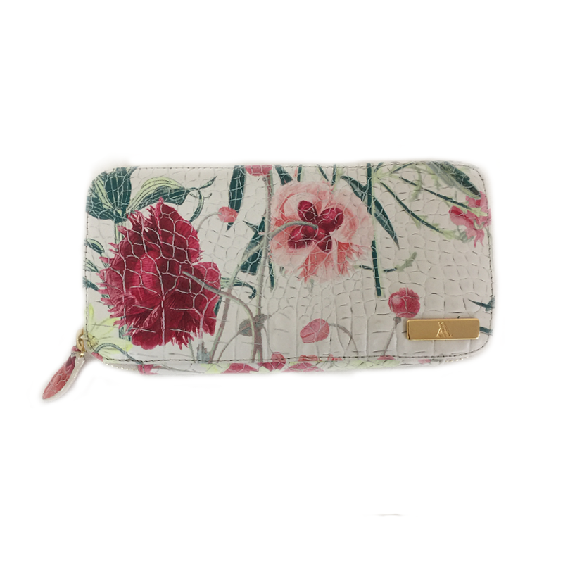 Blossom Leather Wallet
