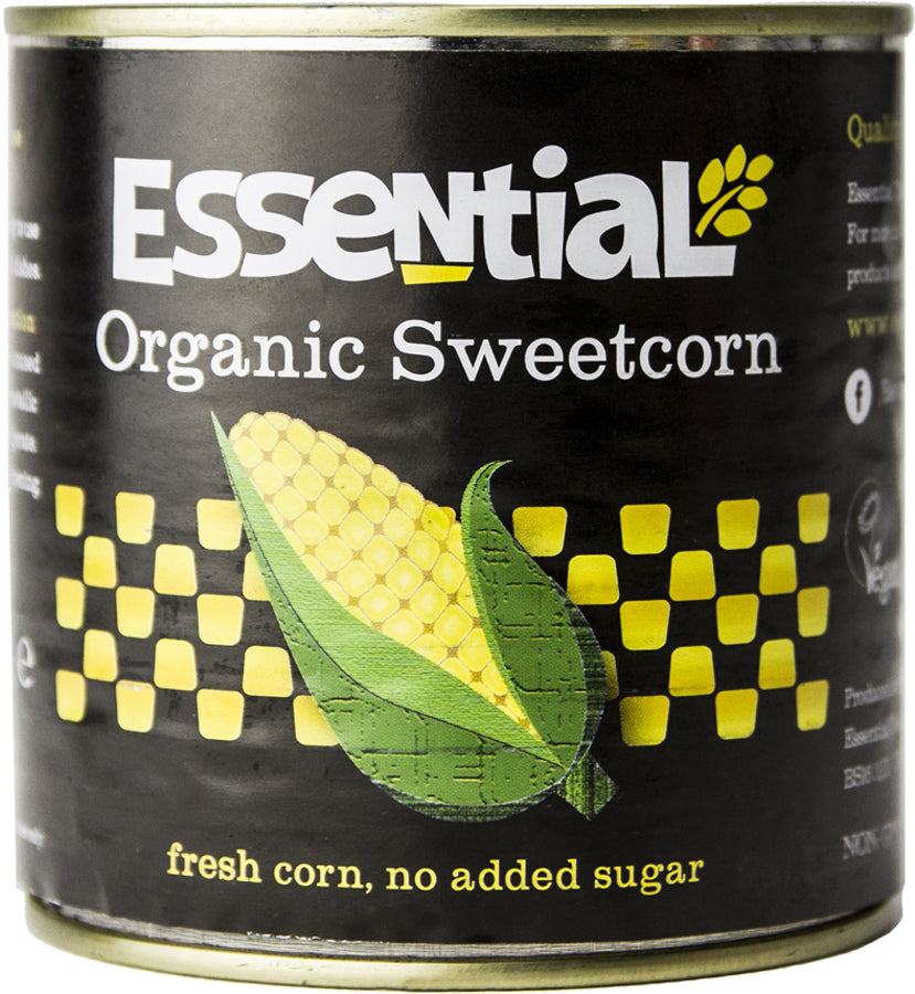 Essential Organic Sweetcorn - 340g