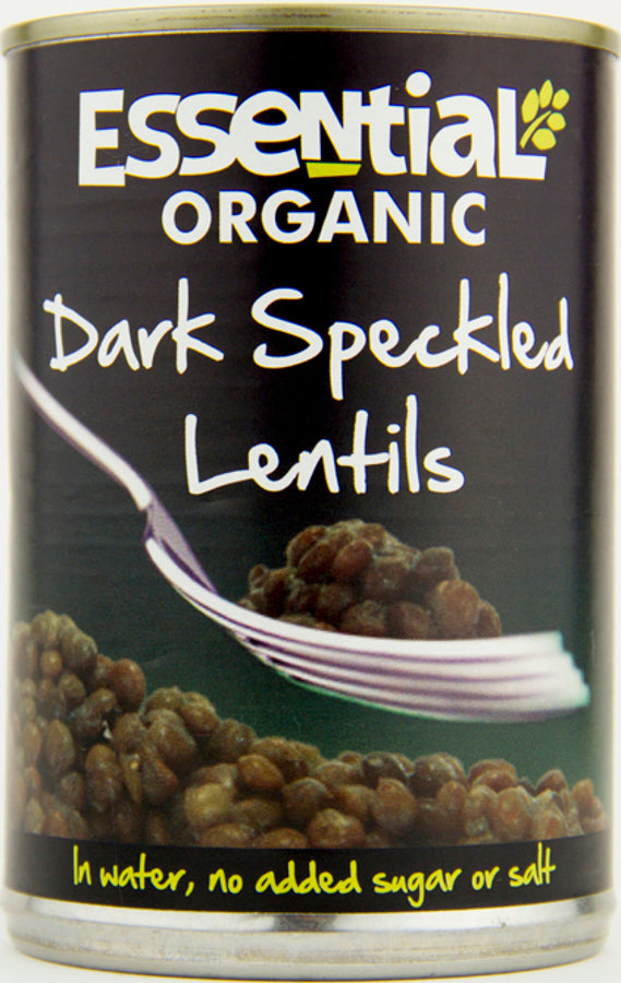 Essential Organic Dark Speckled Lentils