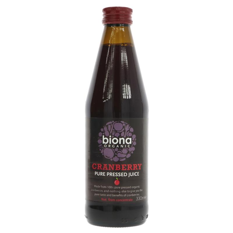 Biona Cranberry Juice 330ml
