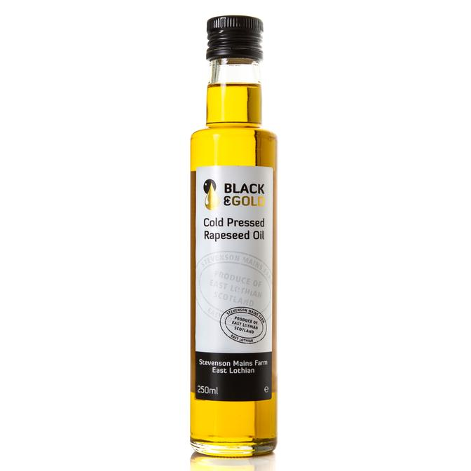 Black & gold Rapeseed Oil 500ml
