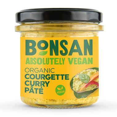 Bonsan - Courgette Curry Pate 130g