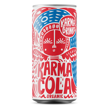 Karma Cola - Cola Can 250ml