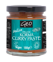 Load image into Gallery viewer, Geo Organics Curry Paste 180g