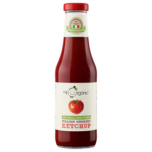Mr Organic Naturally Sweetened Tomato Ketchup 480g