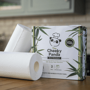 The Cheeky Panda - 2ply Bamboo Kitchen Roll (2 Pack)