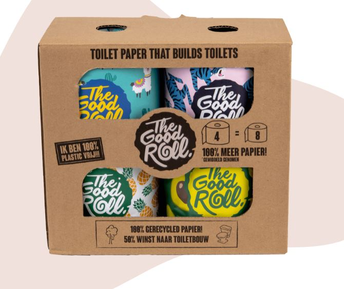 The Good Roll - Toilet Roll (4 Pack)