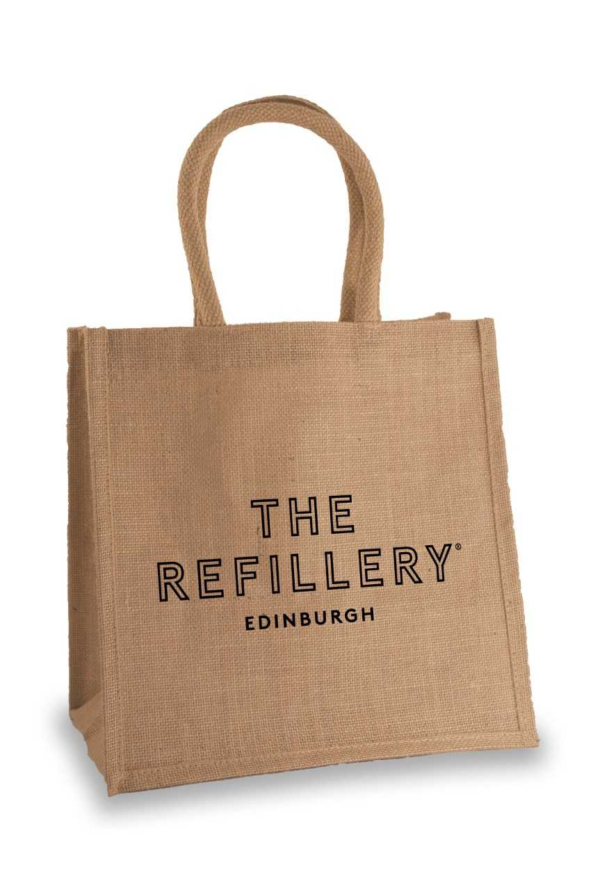 The Refillery Jute Shopping Bag