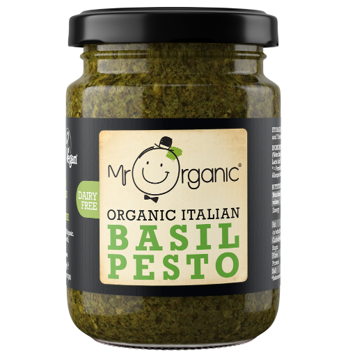 Mr Organic Basil Pesto 130g