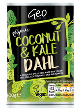 Load image into Gallery viewer, Geo Organic Coconut & Kale Dahl 400g