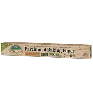 If You Care - Unbleached Parchment Baking Paper Rolls 5sqm