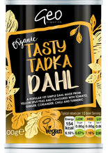 Load image into Gallery viewer, Geo Organic Tasty Tadka Dahl 400g
