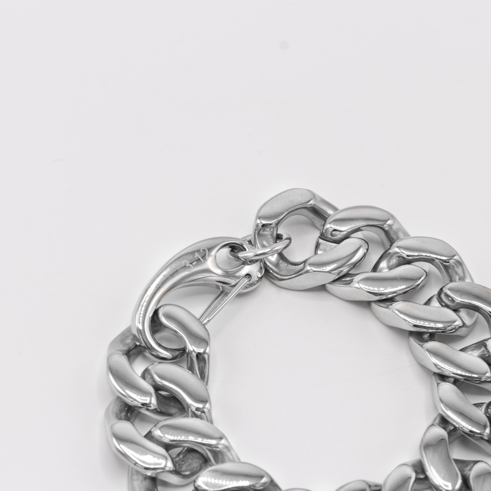 flat cuban bracelet (20mm)