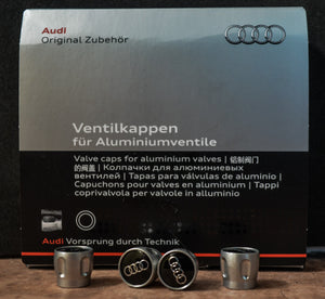 Genuine AUDI Valve Caps