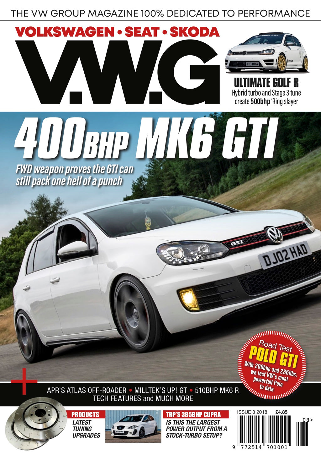 VWG Issue 8 (FREE UK POST)