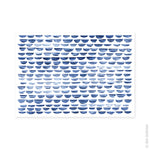 Load image into Gallery viewer, Shibori Waves A3 Art Print