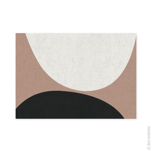 Natural Circles A3 Art Print