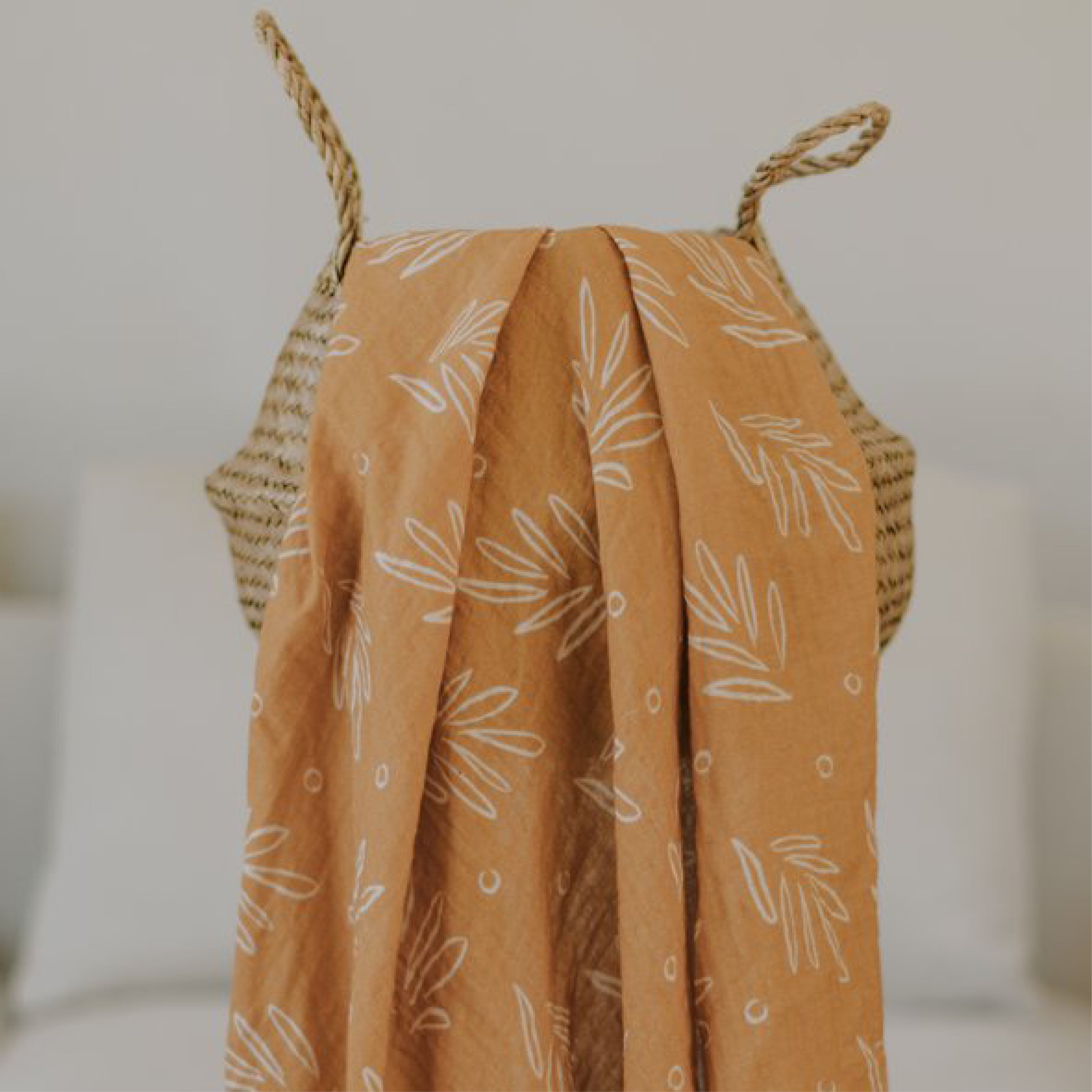 Honey Leaf Swaddle Wrap