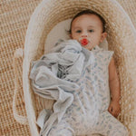 Load image into Gallery viewer, Dove Grey Swaddle Wrap