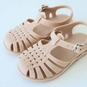 Jelly Sandals - Dusty Pink