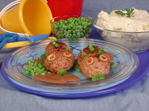 Mini Meat Loaf Monsters