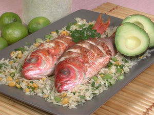Red Snapper and Rice