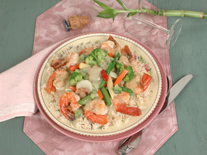 Saute Shrimp with Broccoli Sauce