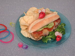 Squeaky's Chicken Cheese Sandwich