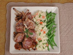 Lamb Chops with Onions