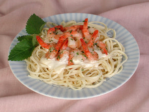 Linquini with Sauteed Shrimp
