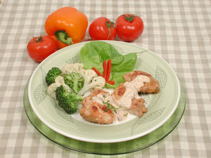 Spicy Chicken Thighs with Vegetables